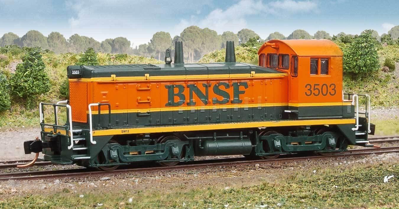 Spur N - Diesellok EMD SW1200 Burlington Northern Santa Fe BNSF