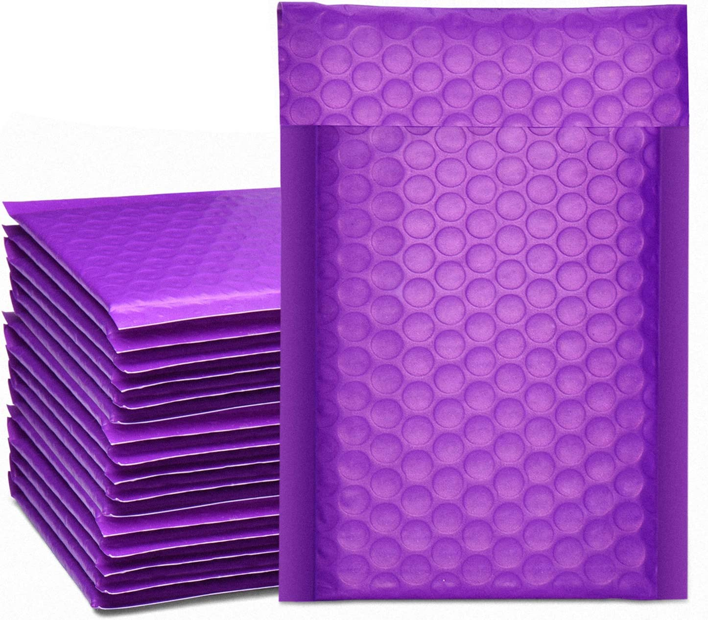 Pack of 10 Padded Shipping Envelope Mailers Secure Seal #000 4x8 Poly Bubble Mailers Small