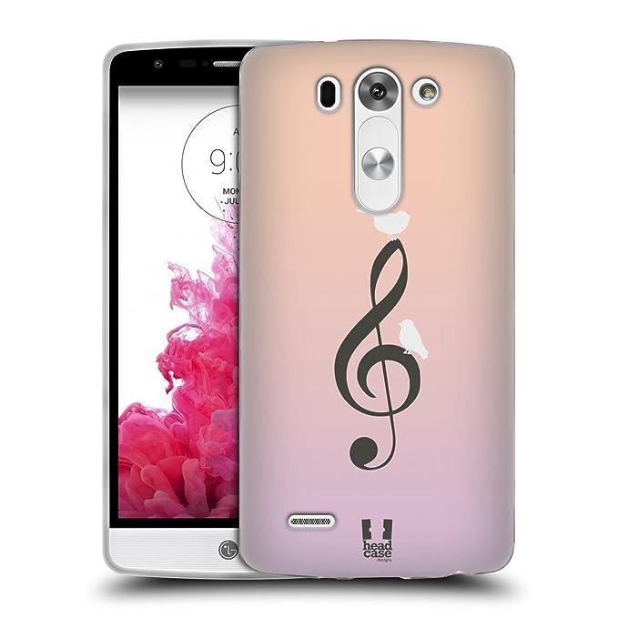 1 opinioni per Head Case Designs Nel Cielo Uccellini In Musica Cover Morbida In Gel Per LG G3 S