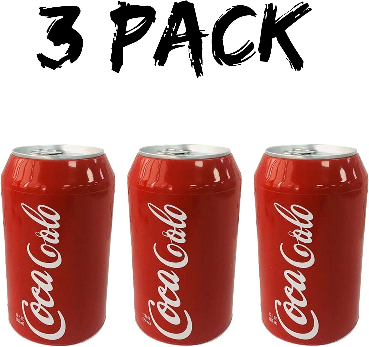 Skywin Silicone Can Sleeve (3 Pack) - Beer Can Cover can Hides Beer Can by Disguising it as a Can of Soda
