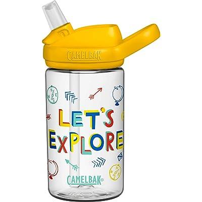 CamelBak Eddy+ Kids Botellas, Infantil, Vamos a Explorar, 0.4 Litre/14 oz