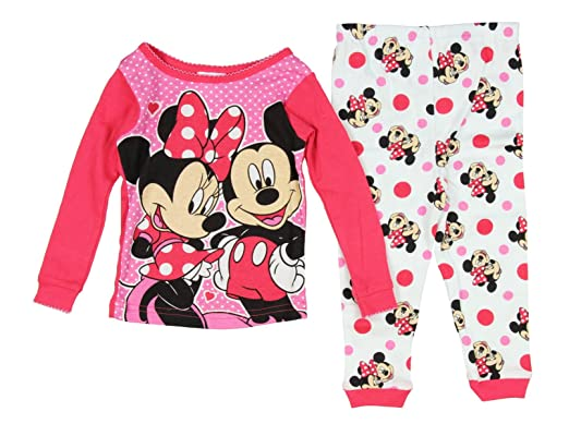 1d46376d8 Amazon.com  Disney Mickey   Minnie Mouse Little Girls Toddler Cotton ...
