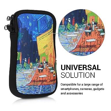 Amazon.com: kwmobile Funda de neopreno para Smartphones S ...