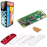 Argon Forty Raspberry Pi Zero and Official Case Kit | No WiFi, NO Bluetooth | Mini HDMI Video-Audio | can Run Python 3 | NOT Included: Micro SD Card and Power Supply