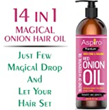 Aspiiro Natural Organic Red Onion Hair Oil With 14 Essential Oil For Complete Hair Treatment & Hair Fall Control Oil (200 ml)