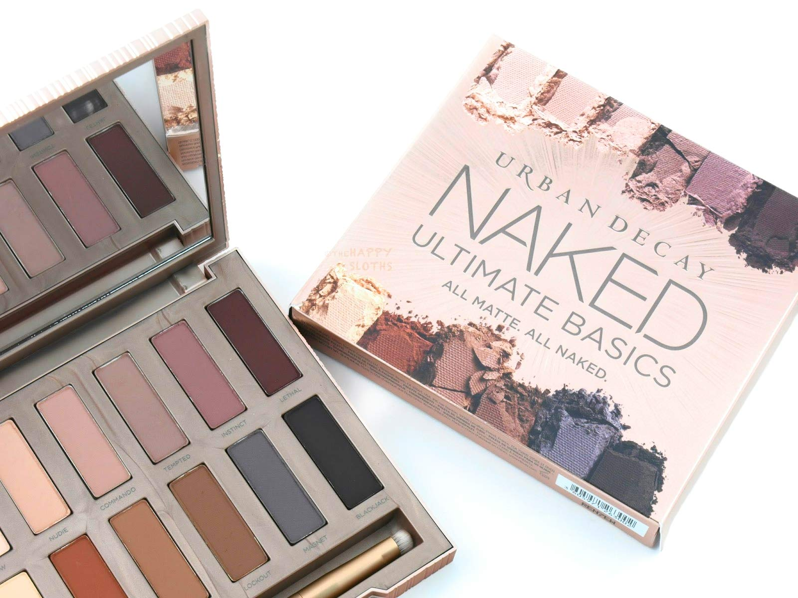 AccuColor & Shadow UD Ultimate Basics All Matte & All Naked