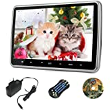 10.1 Inch Portable Design Car Headrest Dvd Player, and USB and SD, and Wireless games,With Super Thin Desgin, AC Adapter 100-240V , Hdmi Port