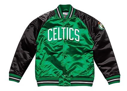 Image Unavailable. Image not available for. Color  Mitchell   Ness Boston  Celtics NBA Tough Season  Retro Satin Jacket Men s 1a9b4e4fb
