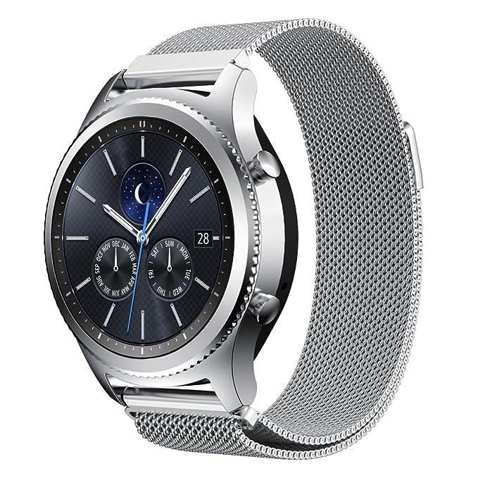 Amazon.com: KuGi Huawei Watch 2 Band, ML Style Stainless ...