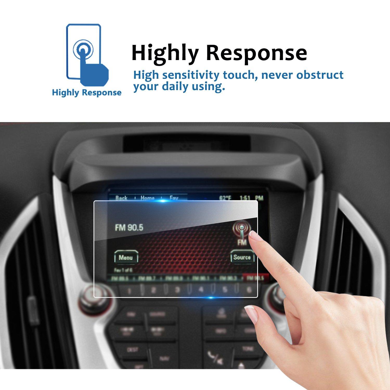 Tempered Glass Center Touch Screen Protector Anti Scratch High Clarity LiFan 9H LFOTPP 2018 GMC Terrain 8 Inch Car Navigation Screen Protector,