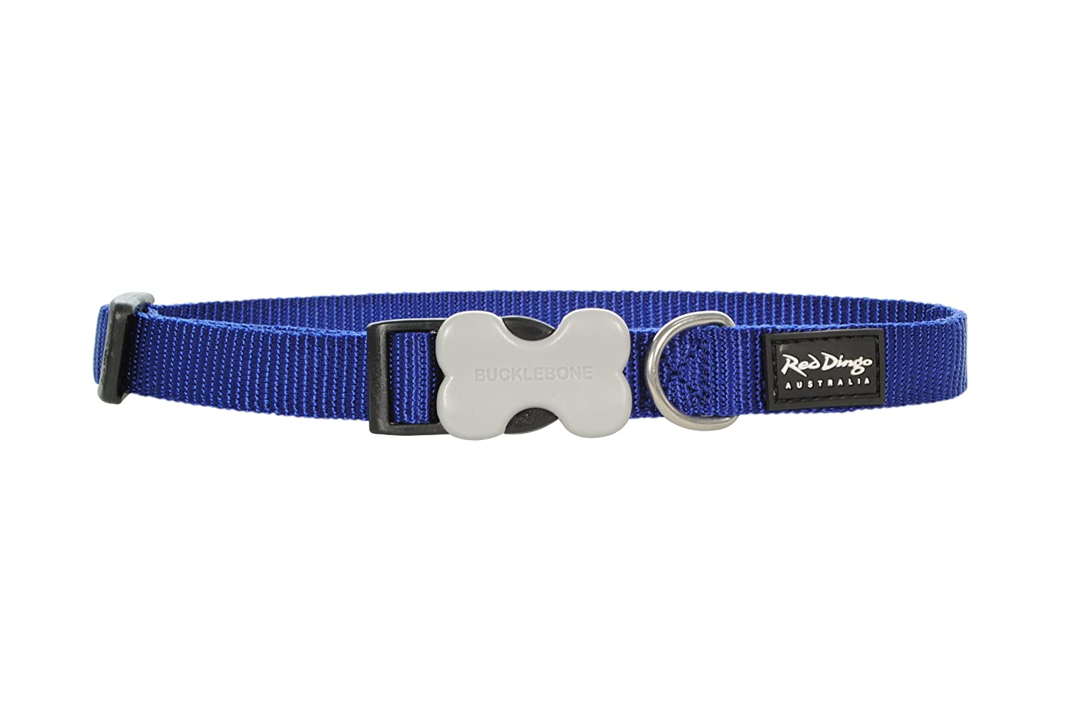bluee Red Dingo Dog Collar, Small, bluee