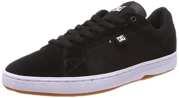 DC Shoes Astor, Zapatillas para Hombre, Negro (Black/White/Gum BW6), 42 EU