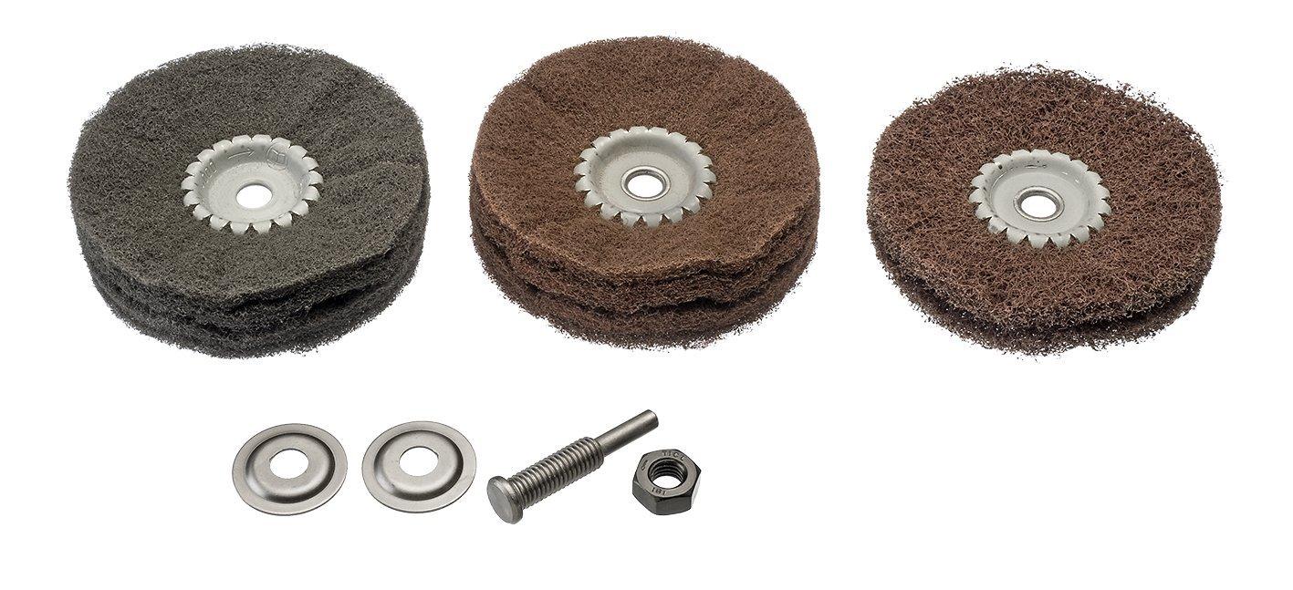 Osborn Set para taladro 1/pieza, 6803600004 4/piezas con instrucciones para veladuras
