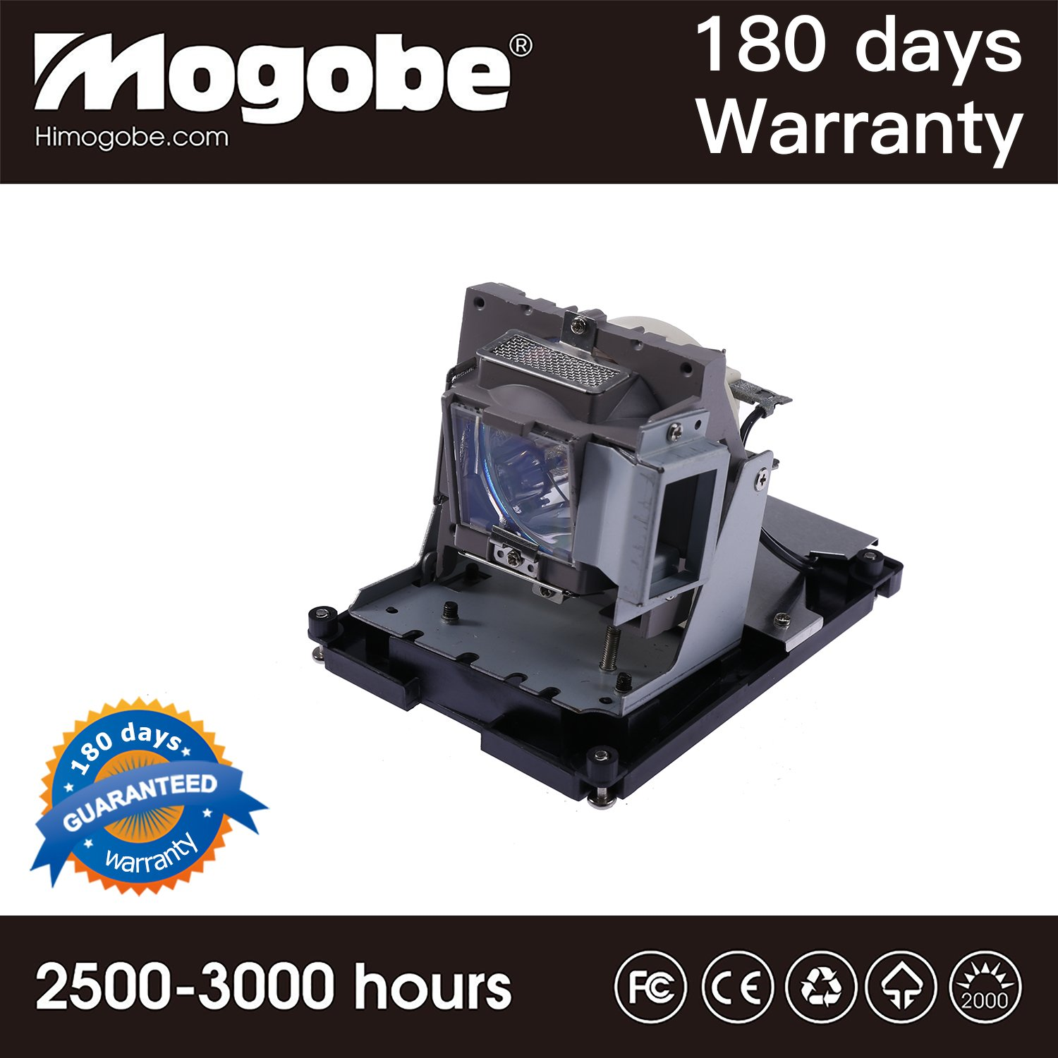For Bl-FU310B Repalcement Projector Lamp with Housing for OPTOMA DH1017 OPTOMA EH500 OPTOMA X600 by Mogobe