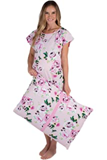 2fe247f76f Gownies - Labor and Delivery Hospital Gown and Matching Pillowcase-Labor Kit