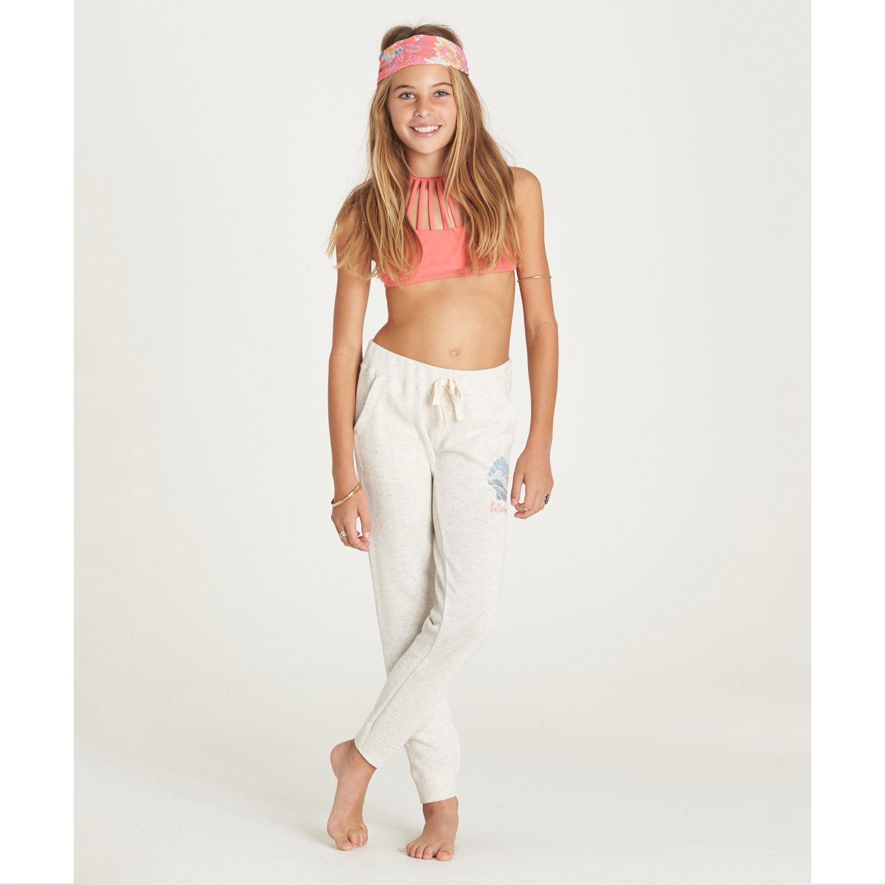 Billabong Girls' Girls' Safe Love Pant Ice Athletic Grey
