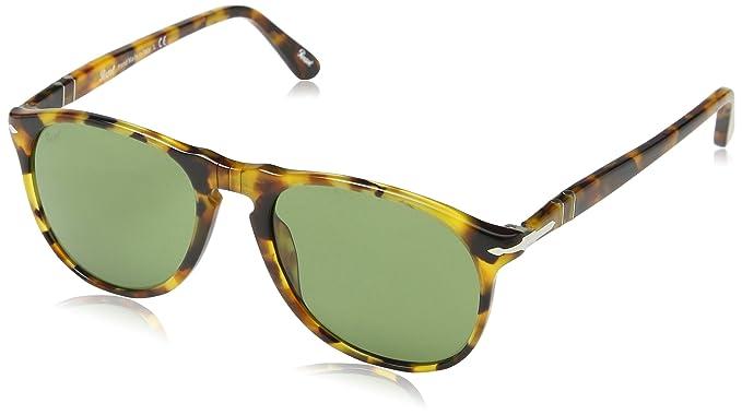 0f6062e47a8cc Amazon.com  Persol PO9649S - 10524E Sunglasses Madreterra w  Green ...