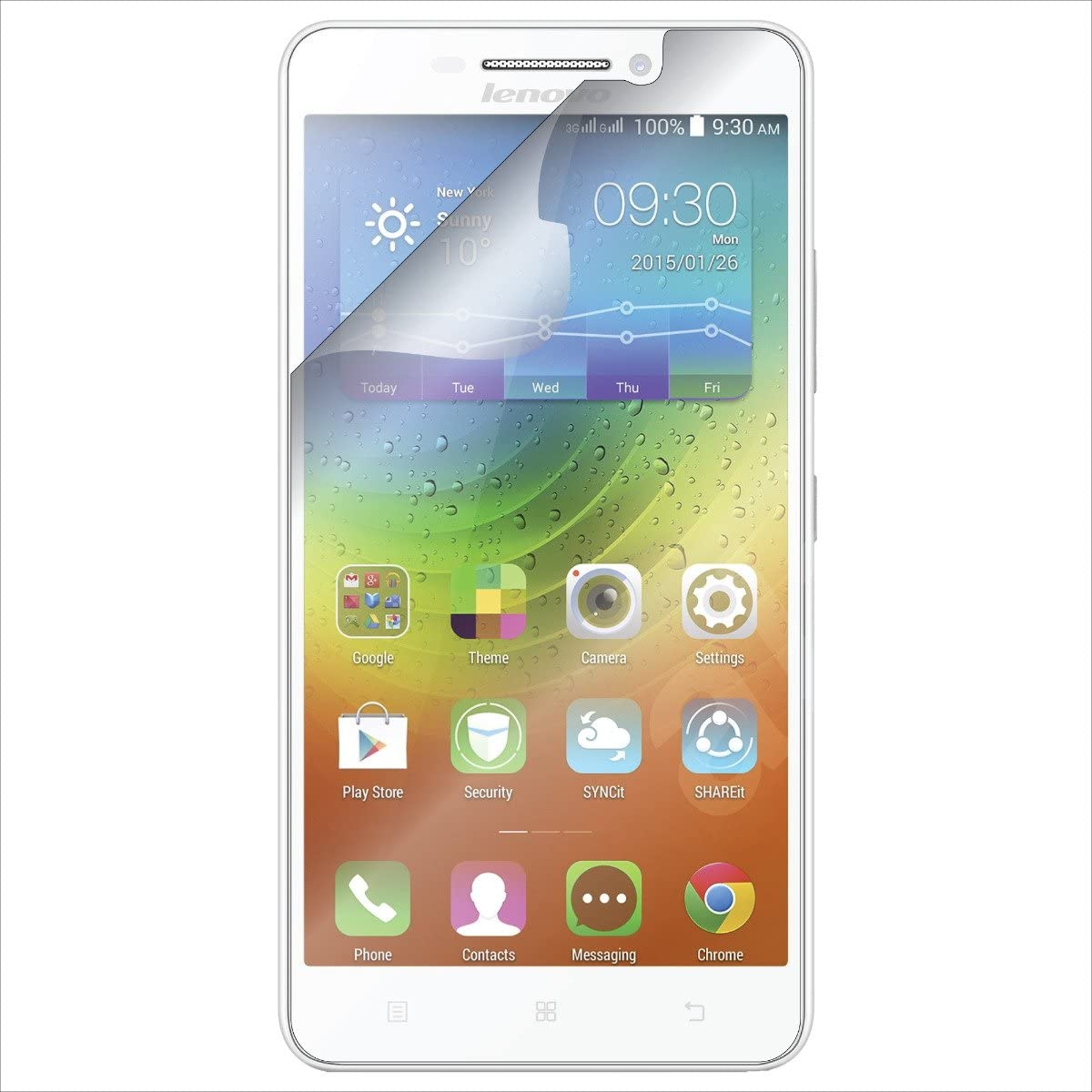 (2-Pack) S Shields Screen Protector for Lenovo A5000 (Ultra Clear)