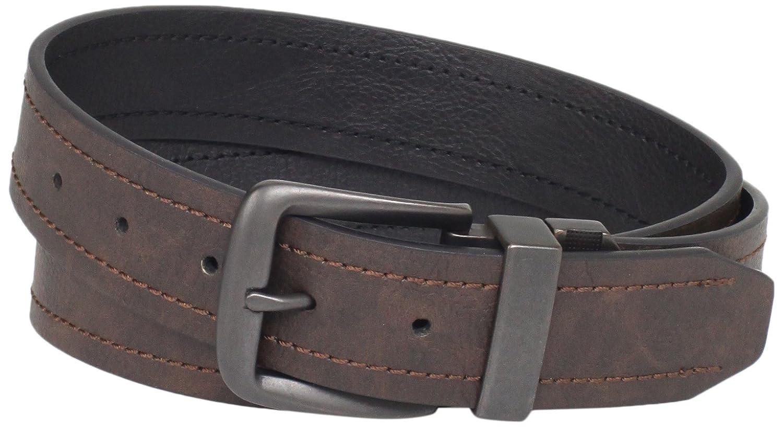 Dickies Men's 40 Milliimeter Reversible Belt With Logo Buckle Dickies Men' s Accessories 11DI02N5