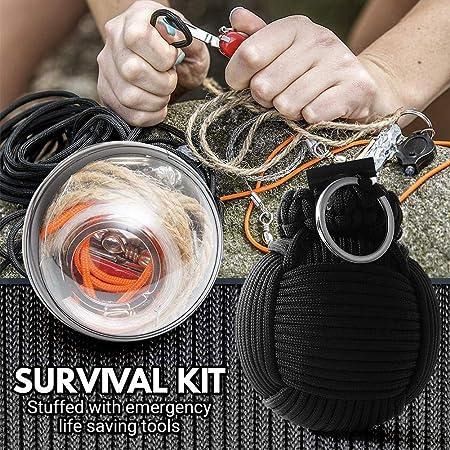 waterfail Survival Pack, Outdoor Survival Kit Paquete de ...