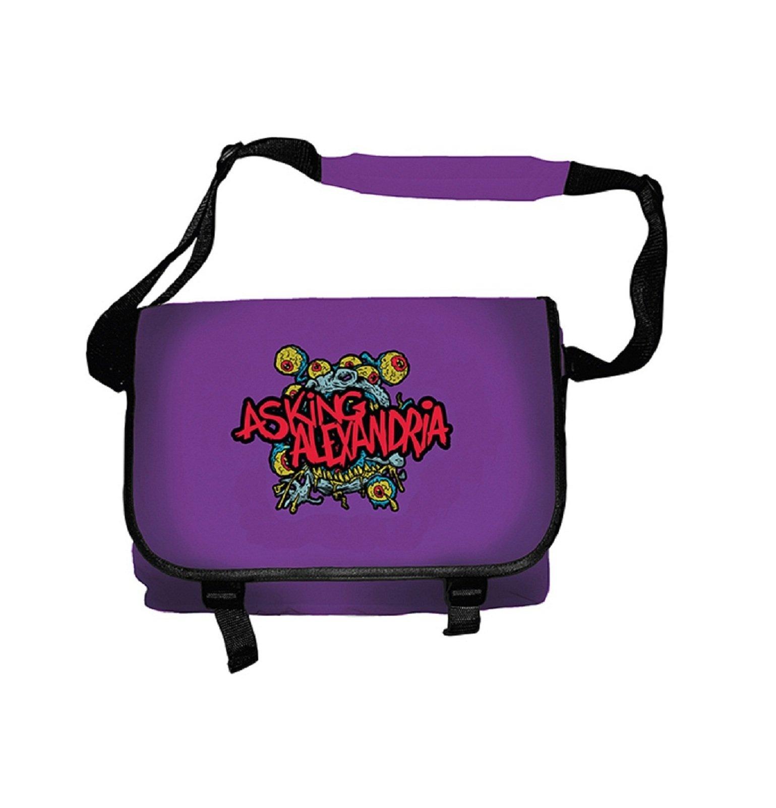Asking Alexandria Eyeballs Logo Official Messenger Bag