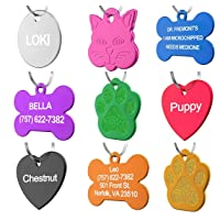 Deals on Dr. Fremont's Pet ID Tag Custom for Dog Cat Personalized