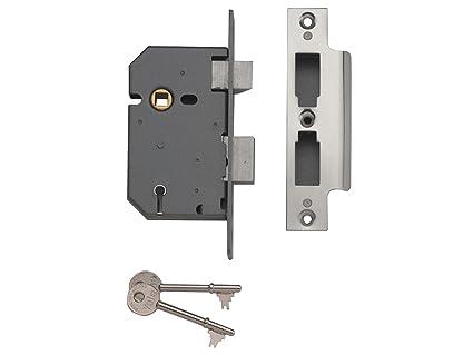 Yale Locks YALPM550CH25 - Cerradura empotrable (5 guardas, 6,35 cm)