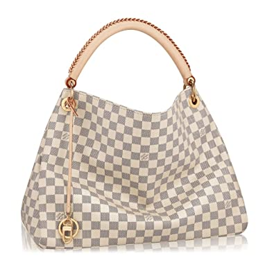 f4b4adcf8a70 Louis Vuitton Damier Canvas Artsy MM Handbag Article N41174 Made in France   Handbags  Amazon.com