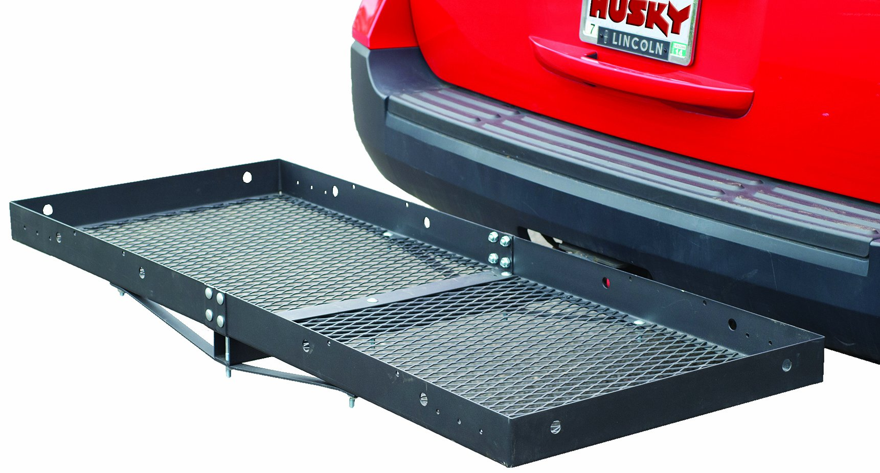 Husky 81148 Extra Wide Steel Cargo Carrier - 500 lb. Capacity by Husky Liners