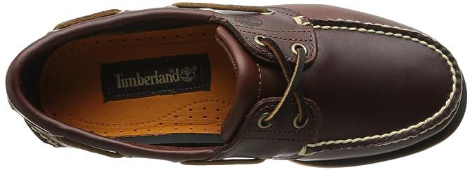 Timberland Classic Boat Ftm_Classic 2 Eye - Alpargatas para hombre, marrone (braun (rootbeer smooth)), talla 42 1/9