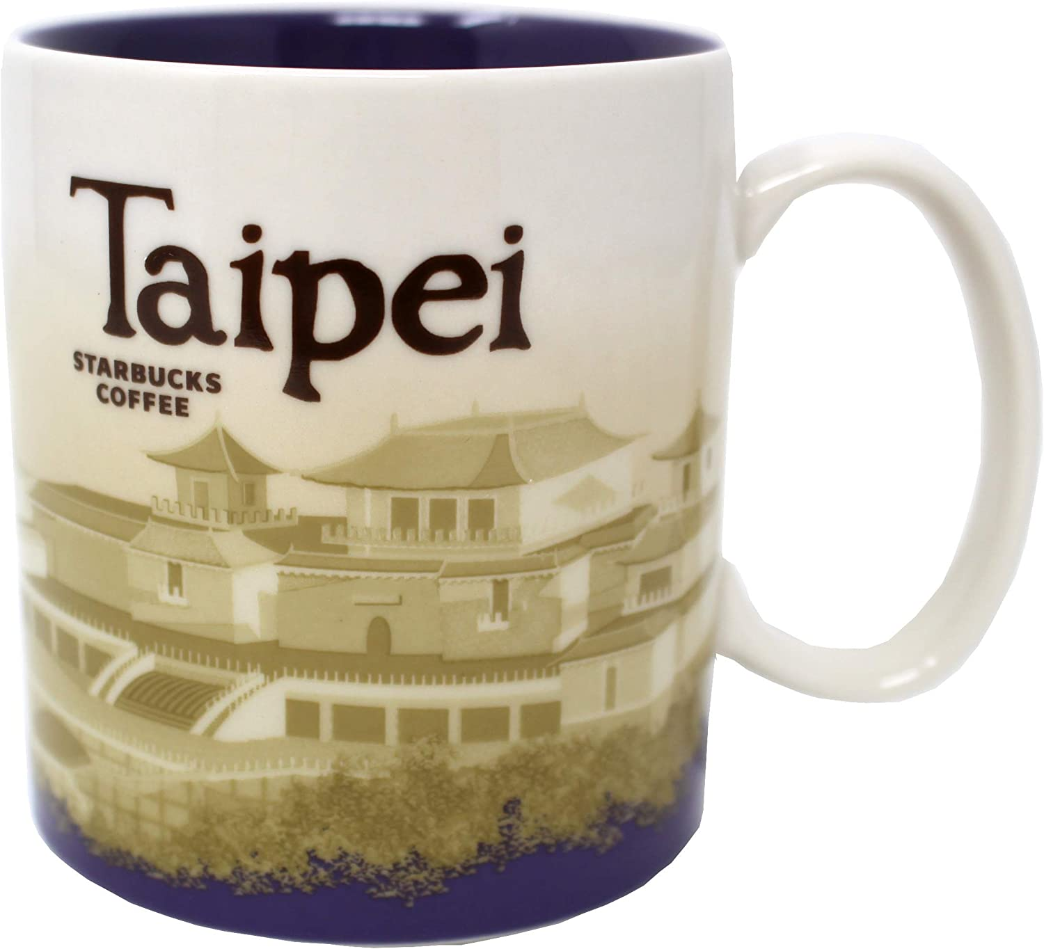 Starbucks Taipei Global Icon Mug, 16 Oz