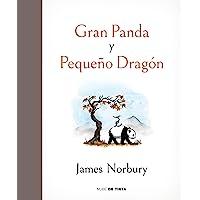 Gran panda y pequeño dragón (Nube de Tinta)