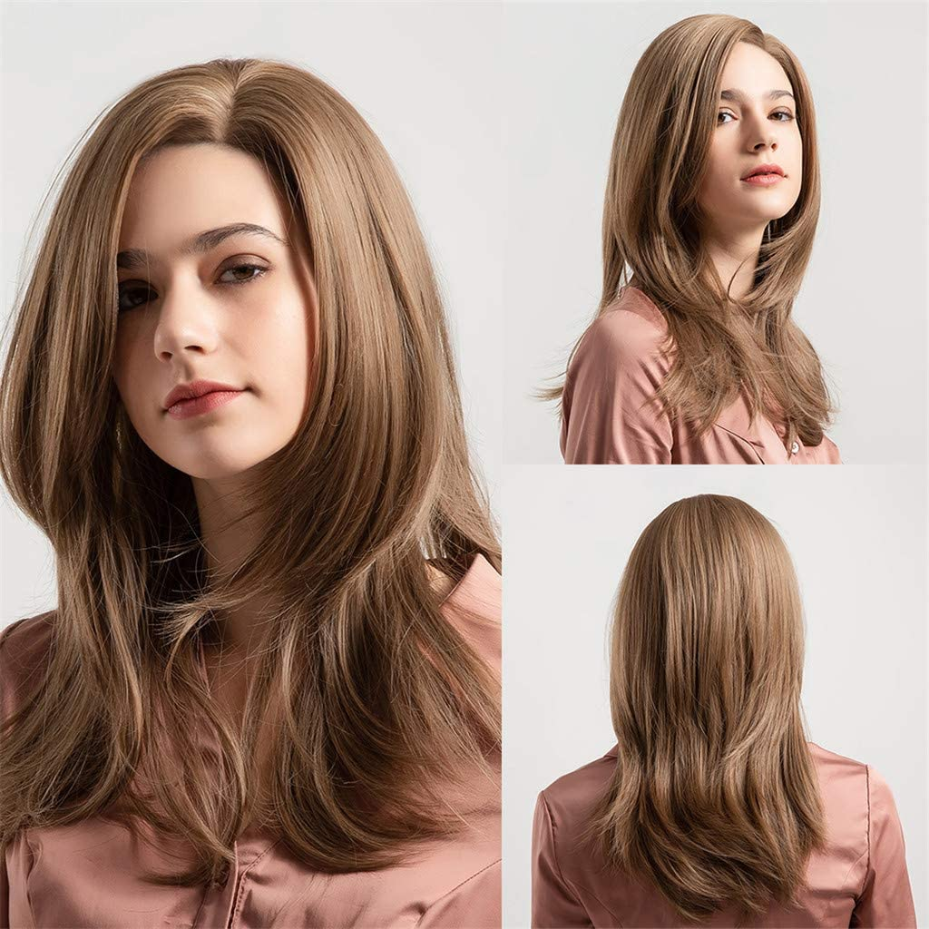 Angelof - Peluca natural para mujer (pelo virgen, pelo brasileño ...