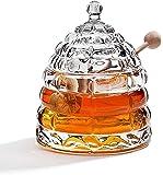 StudioSilversmiths 44153 Beehive Crystal Honey Jar