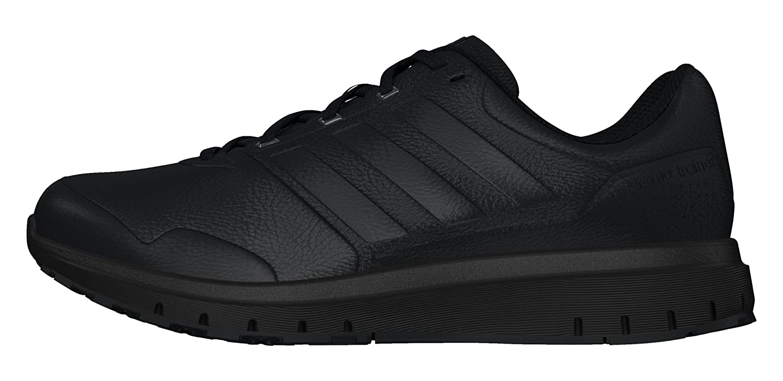 adidas Duramo Trainer Lea - Trainers for Men, 46, Black: Amazon.co.uk:  Shoes & Bags