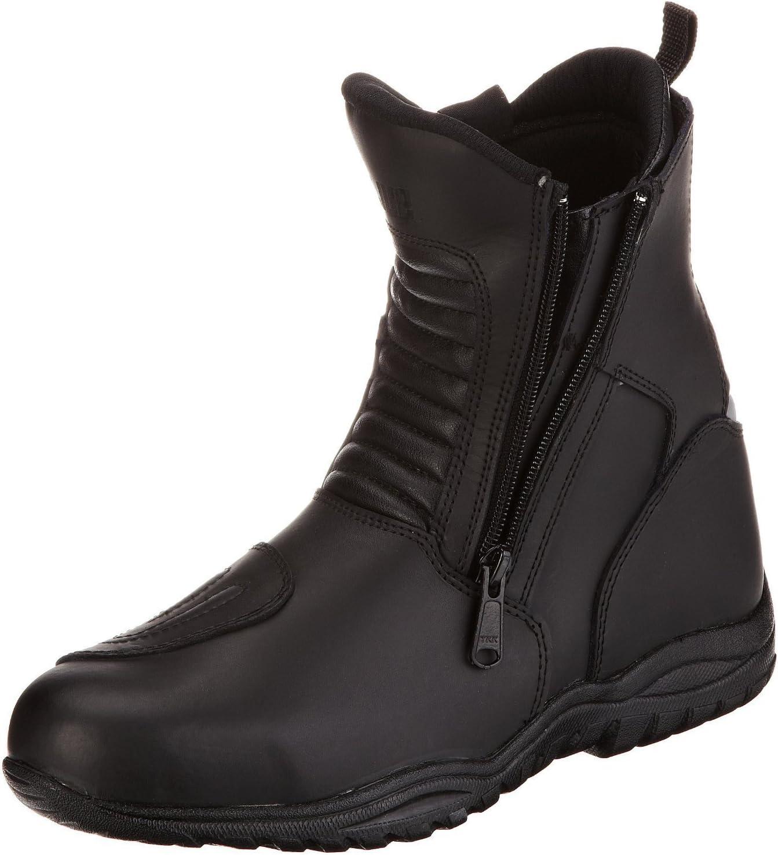 Protectwear Botas de moto de media altura, botas de viaje en moto