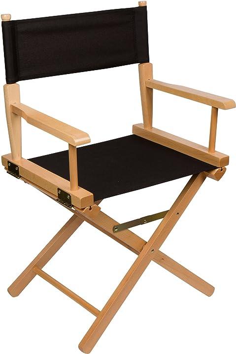24u0026quot; Bar Height Directoru0027s Chair   Light Wood   By Trademark  Innovations ...