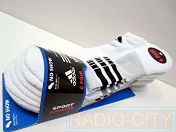e6a0a14168246 Image Unavailable. Image not available for. Color: Adidas Men's Sport  Superlite No Show Sock ...