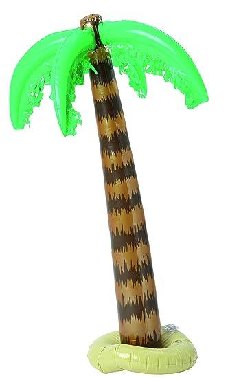 COOLMP - Lote de 12 Palmas hinchables 91 cm Hawai - Talla única ...