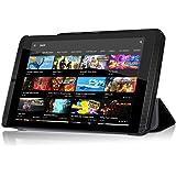 NVIDIA SHIELD K1 8.0 Case - IVSO Slim Smart Cover Case for NVIDIA SHIELD K1 8.0 inch Tablet (Black)