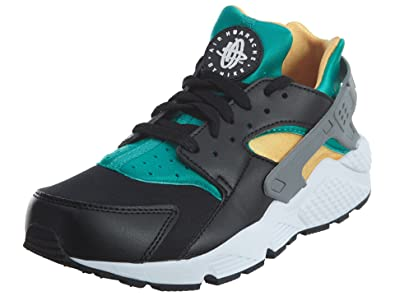 great fit famous brand picked up Buy Nike Men's Air Huarache Black/White/Emerald/Resin Running Shoe ...