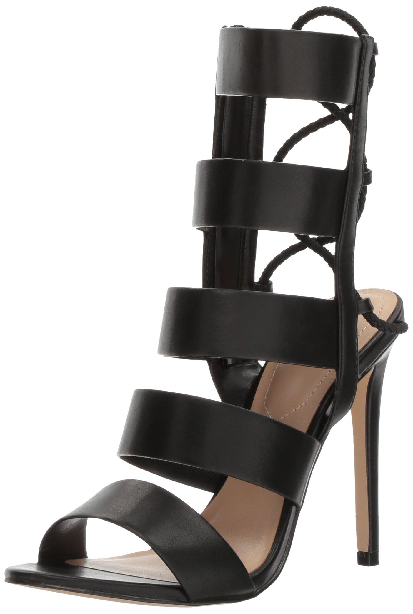 ویکالا · خرید  اصل اورجینال · خرید از آمازون · ALDO Women's Hawaii Gladiator Sandal, Black Synthetic, 8 B US wekala · ویکالا