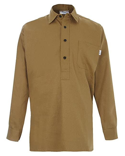 Men's Vintage Christmas Gift Ideas Yarmo Mens Cotton Drill Shirt £50.00 AT vintagedancer.com