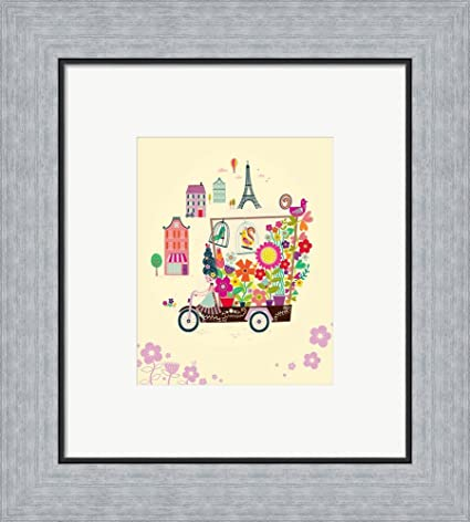 Amazon.com: Wall Art by Katy Halford Framed Art Print Wall Picture ...