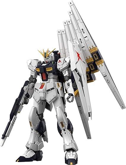 Amazon Com Bandai Hobby Rg 1 144 32 Nu Gundam Char S Counterattack Toys Games