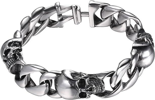 bracelet bijoux tête de mort 6
