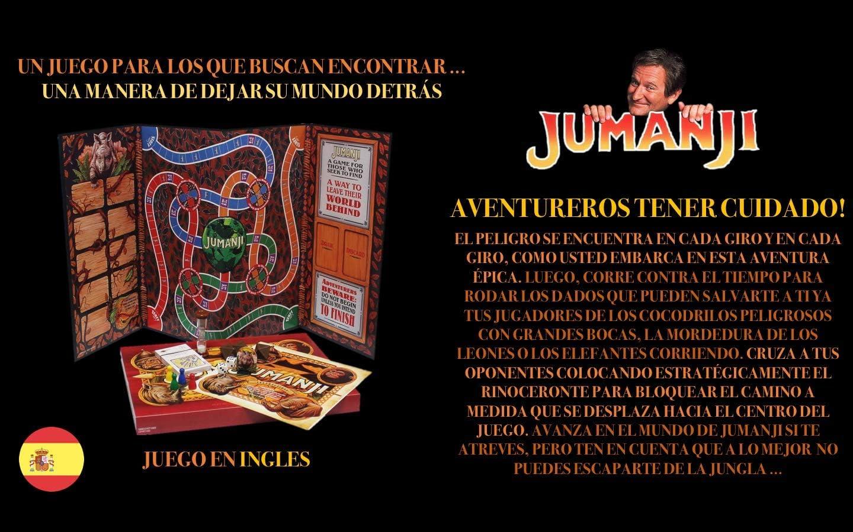 JUMANJI El Juego De Mesa | Un Juego para Los Que Buscan Encontrar ...