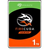 Seagate FireCuda 1TB Solid State Hybrid Drive Performance SSHD – 2.5 Inch SATA 6GB/s Flash Accelerated for Gaming PC Laptop -