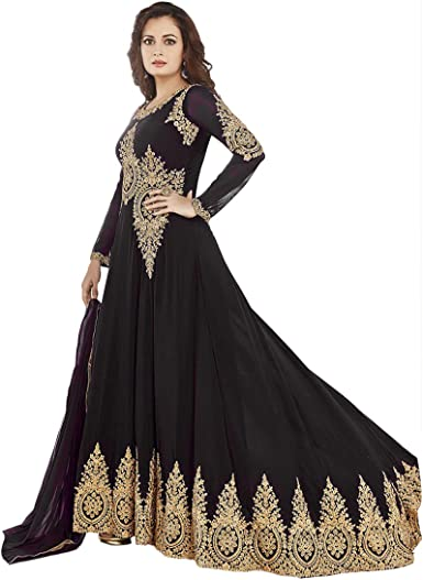 Pakistani Dresses Anarkali Salwar Kameez Designer Indian Bollywood Sf 122f4f01 Vf Black Amazon Co Uk Clothing