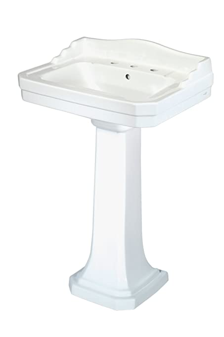 Pegasus FL 1930 8W Series 1930 8 Inch Widespread Lavatory Sink Combo,